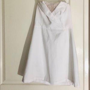 BCBG White Mini Dress - SZ 6